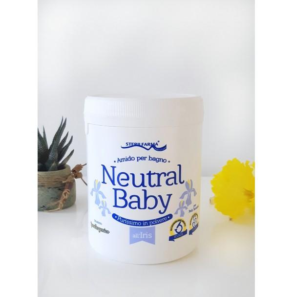 Neutral Baby vilkdalgių aromato ryžių milteliai voniai, 220g